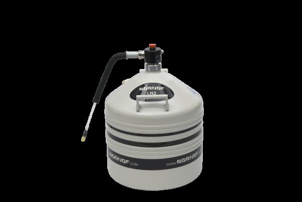455 Manual Pump On 35 Liter Dewar 1